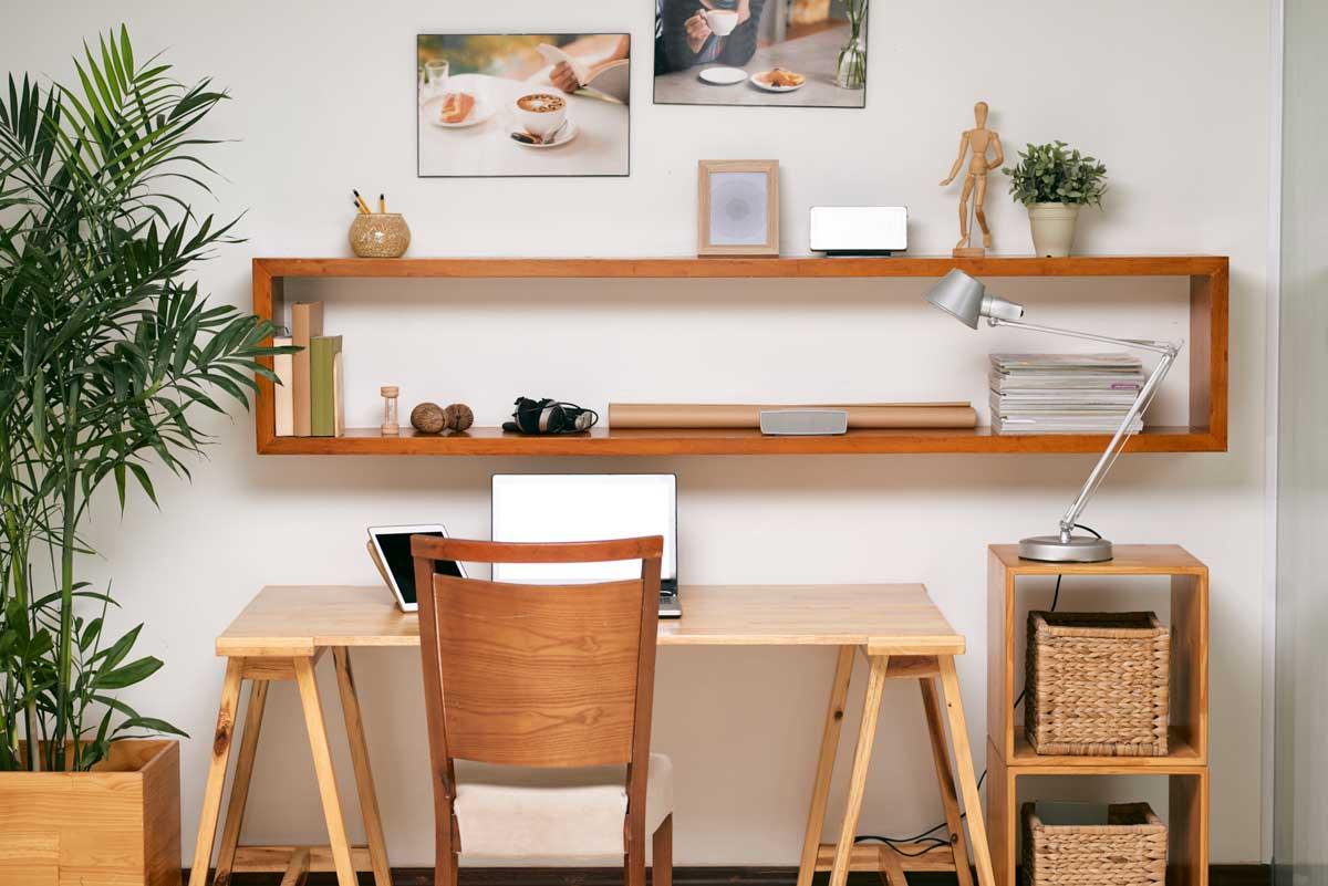 Oficina en casa en cuarentena