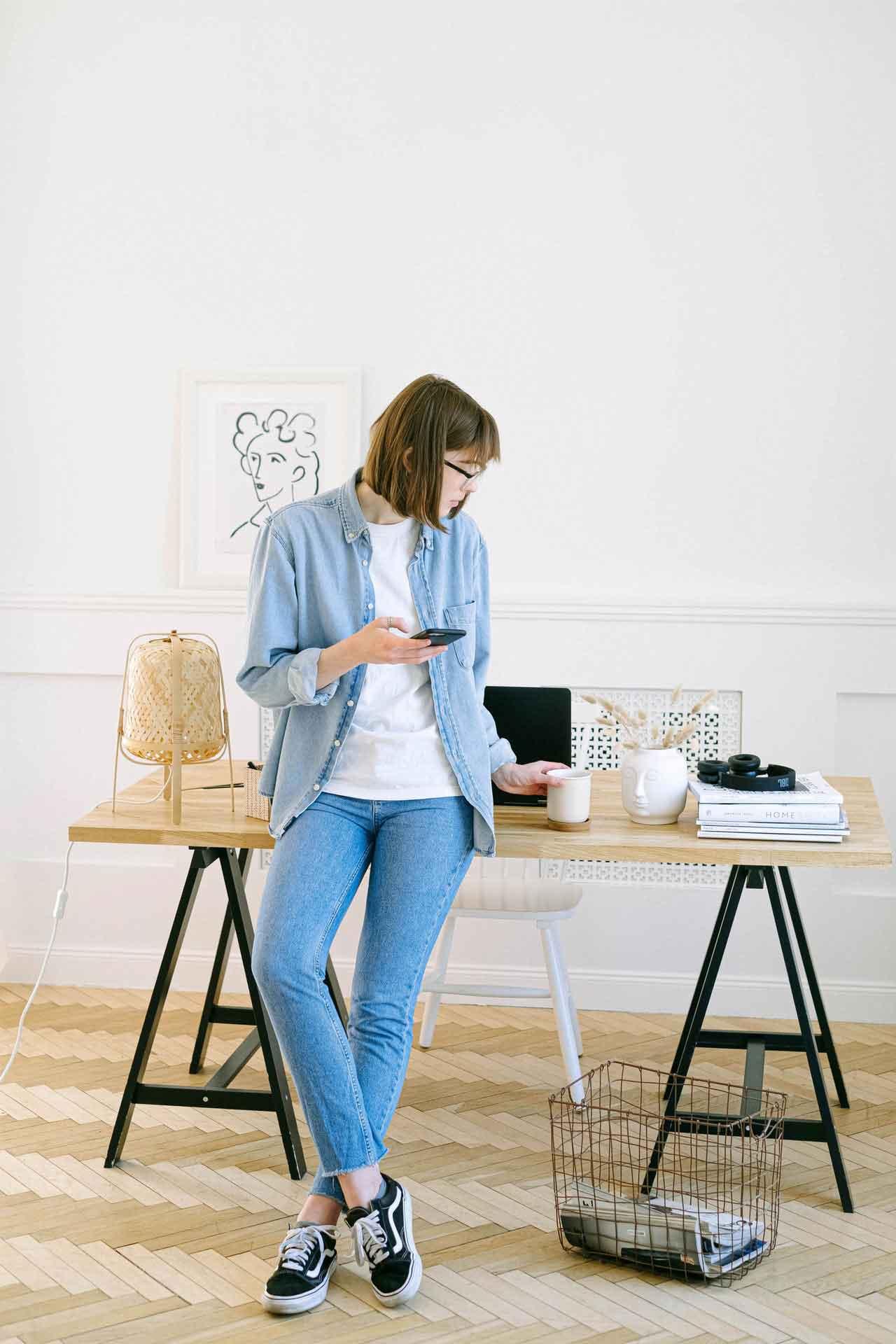 Muebles de escritorio para casa