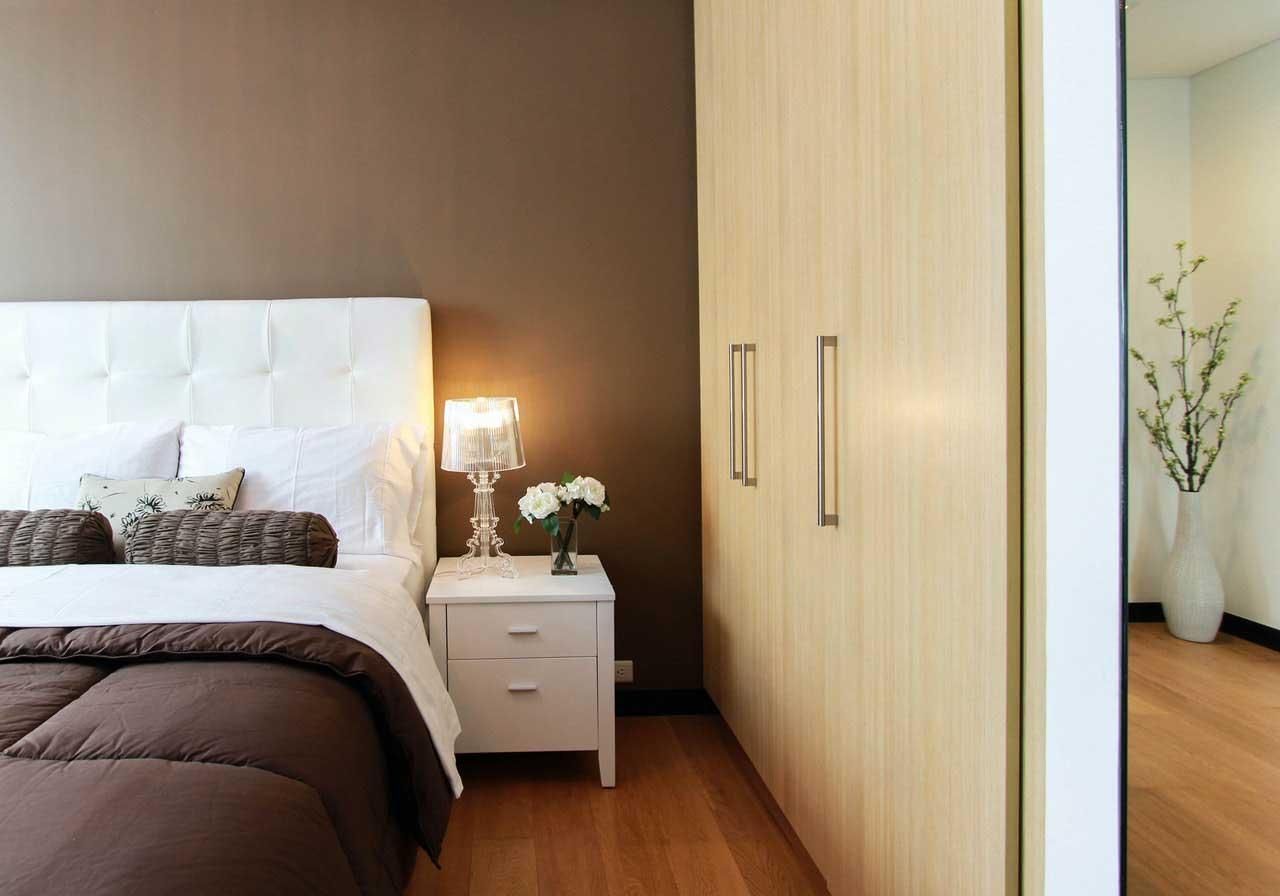 Roperos modernos e ideas para dormitorios pequeños
