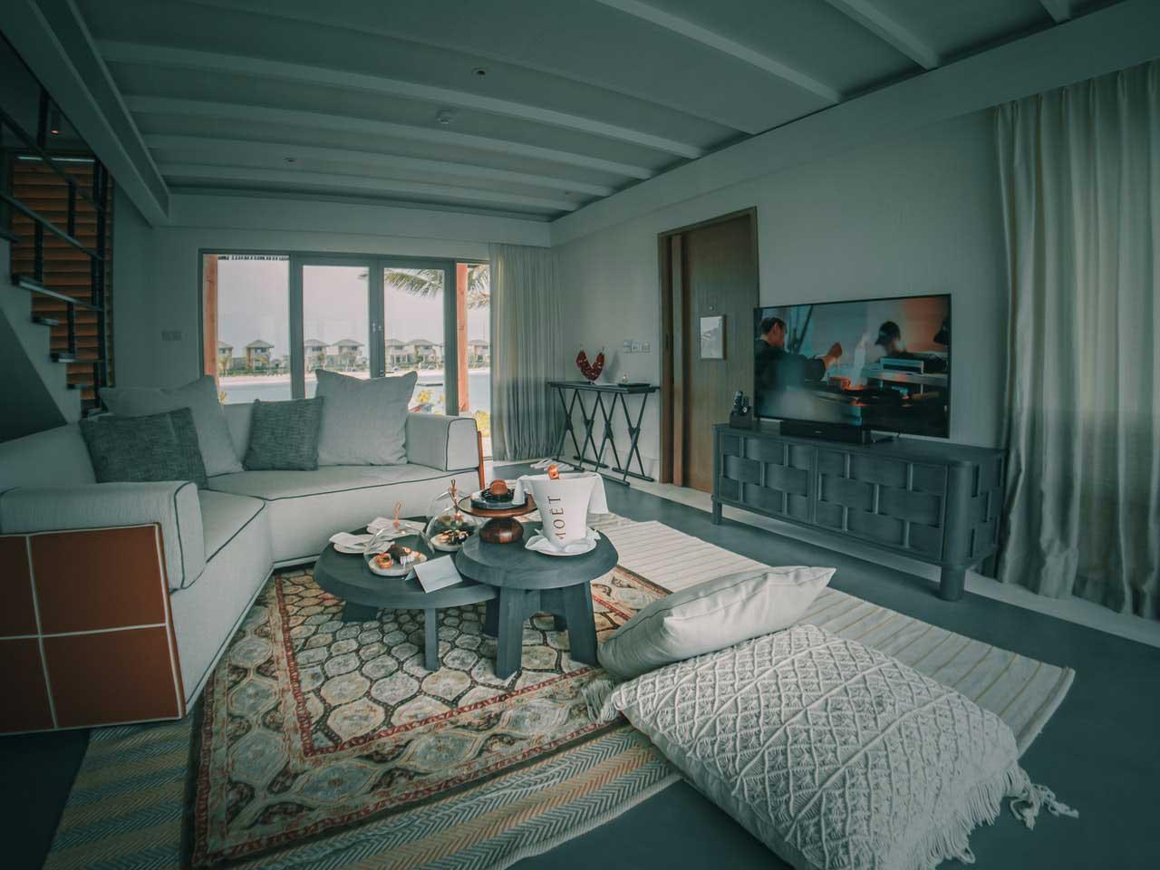 5 Muebles de madera para sala grande