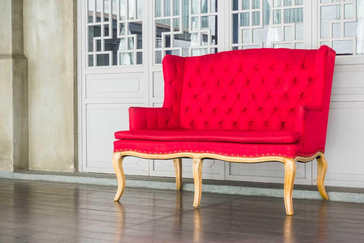 Sofa vintage para sala