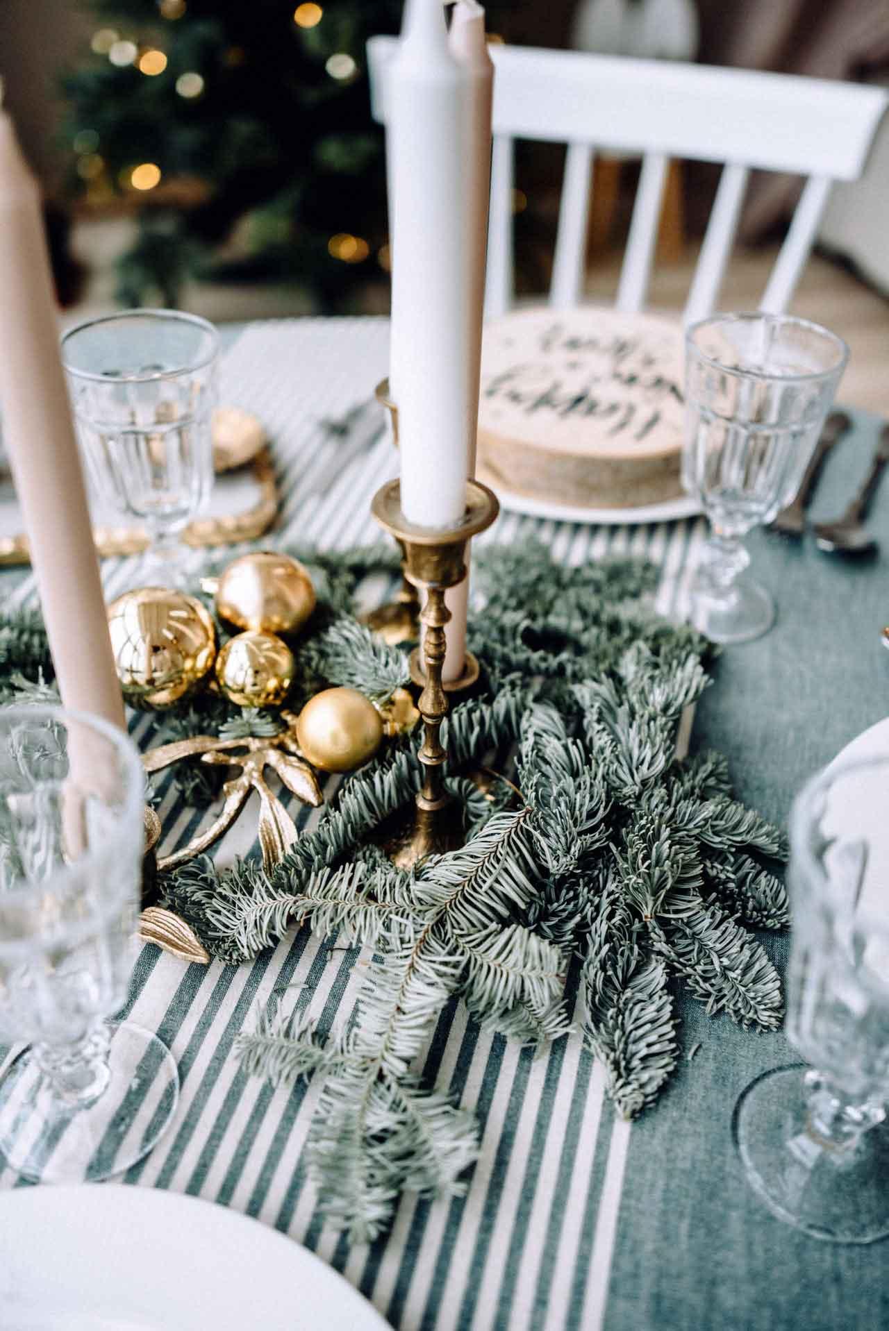 Decoración vintage navideña