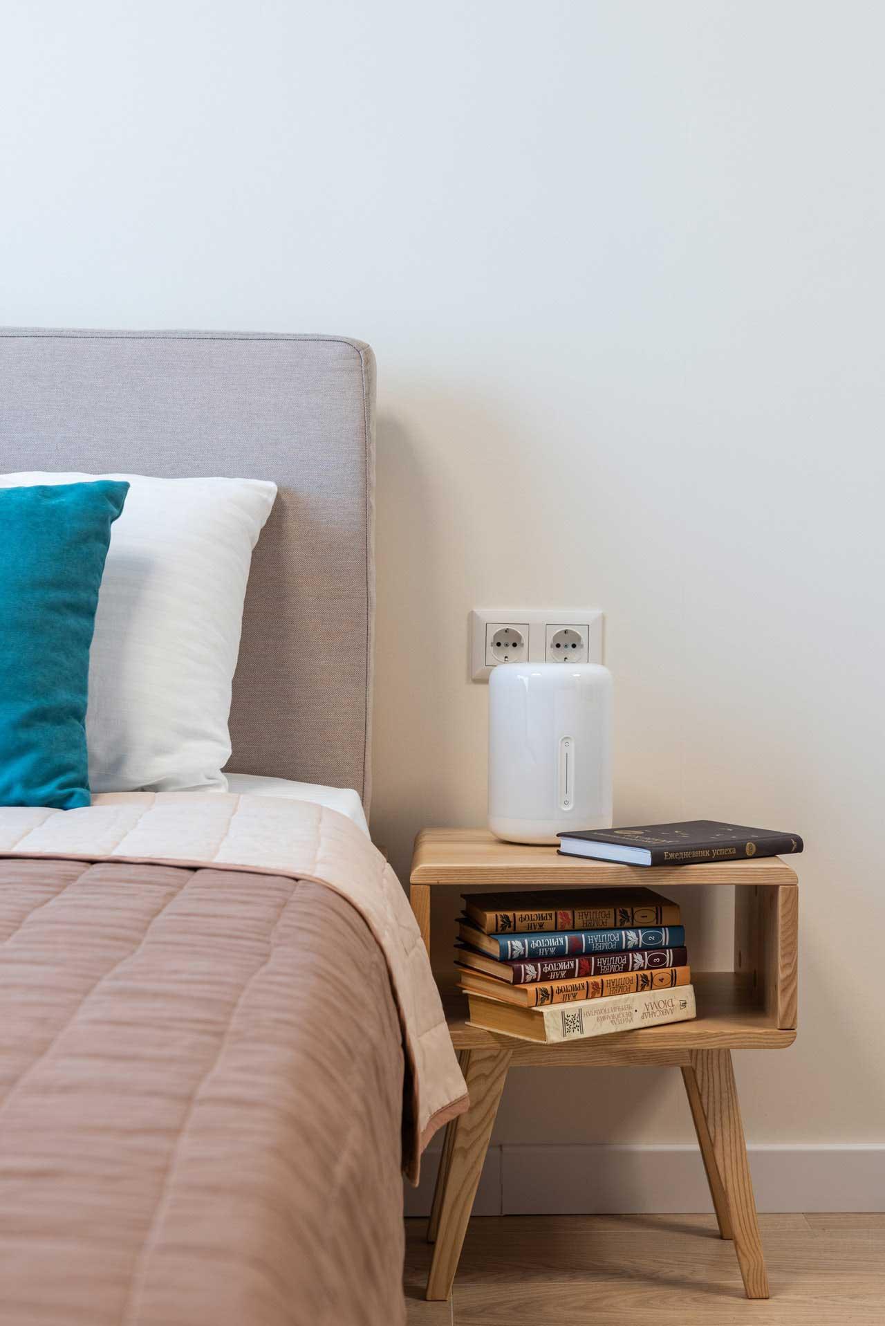 Veladores pequeños de dormitorio